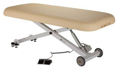 Pneumatic Lift Table Design x series lift table side view Earthlite Ellora Lift Massage Table